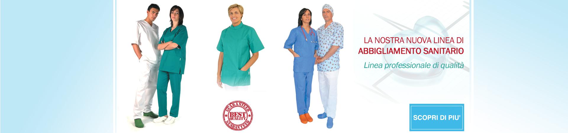 Abbigliamento sanitario medico