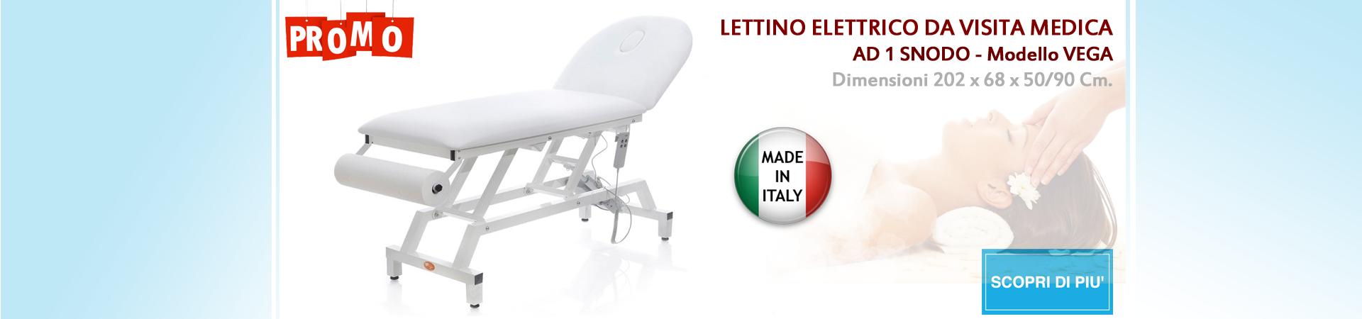 Lettino elettrico Vega Ortopedia | Elettromedicali | Forniture Ospedaliere | Medisanshop.com