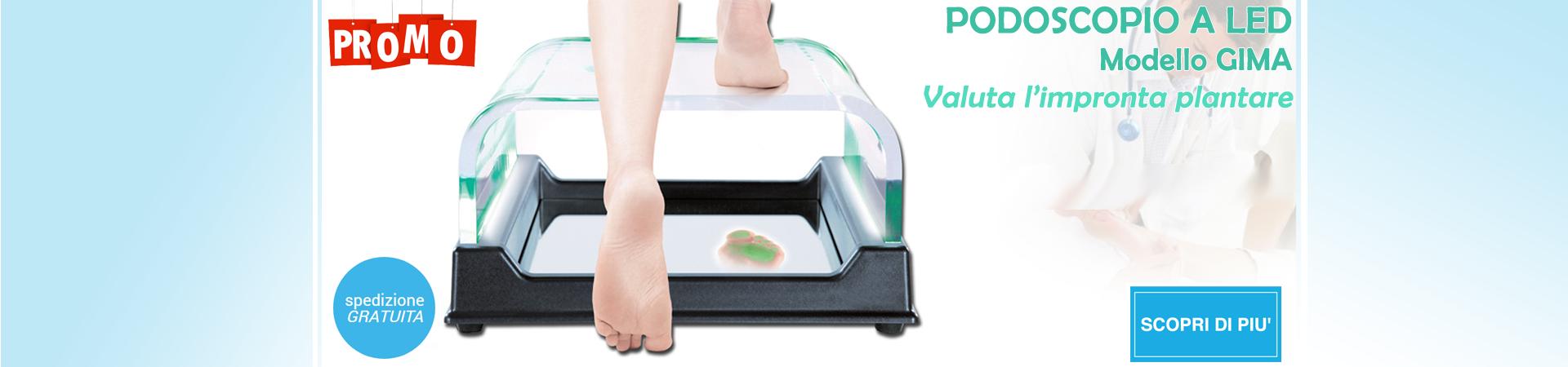 Podoscopio plantoscopio a Led Gima Ortopedia | Elettromedicali | Forniture Ospedaliere | Medisanshop.com
