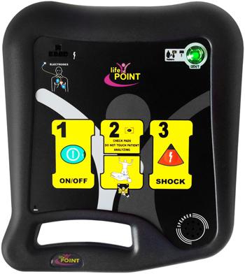 DEFIBRILLATORE LIFE POINT PRO AED - Medisanshop.com