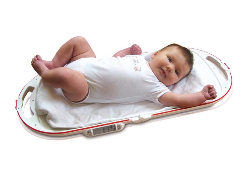 BILANCIA PESANEONATI BABY - PIEGHEVOLE E RICHIUDIBILE - Mod. SOEHNLE 8320