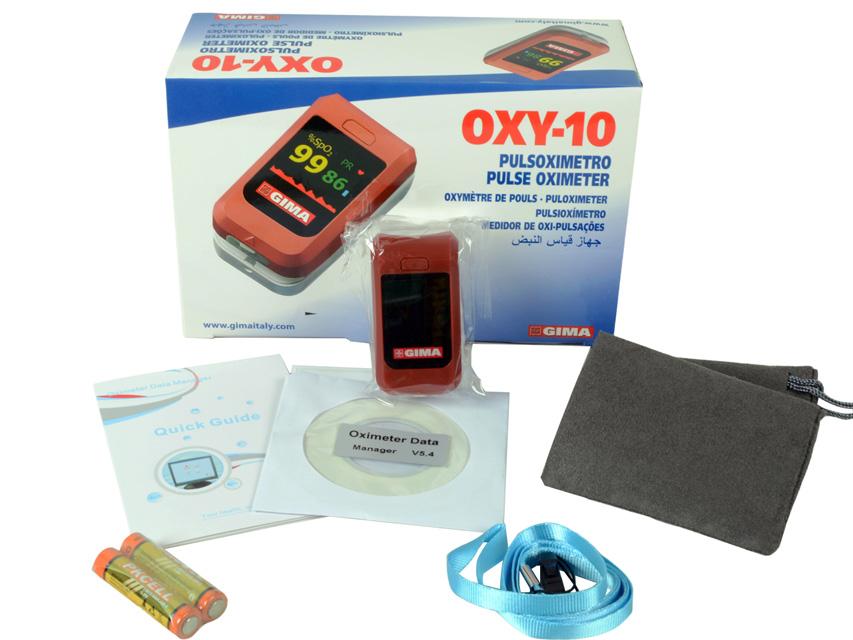 35095-pulsossimetro-OXY-10-rosso-dotazione