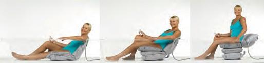 Sollevatore per vasca a cuscini d'aria DAINO-funzioni