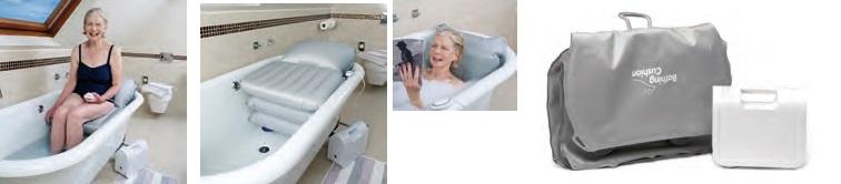 Sollevatore per vasca a cuscini d'aria DAINO-utilizzi