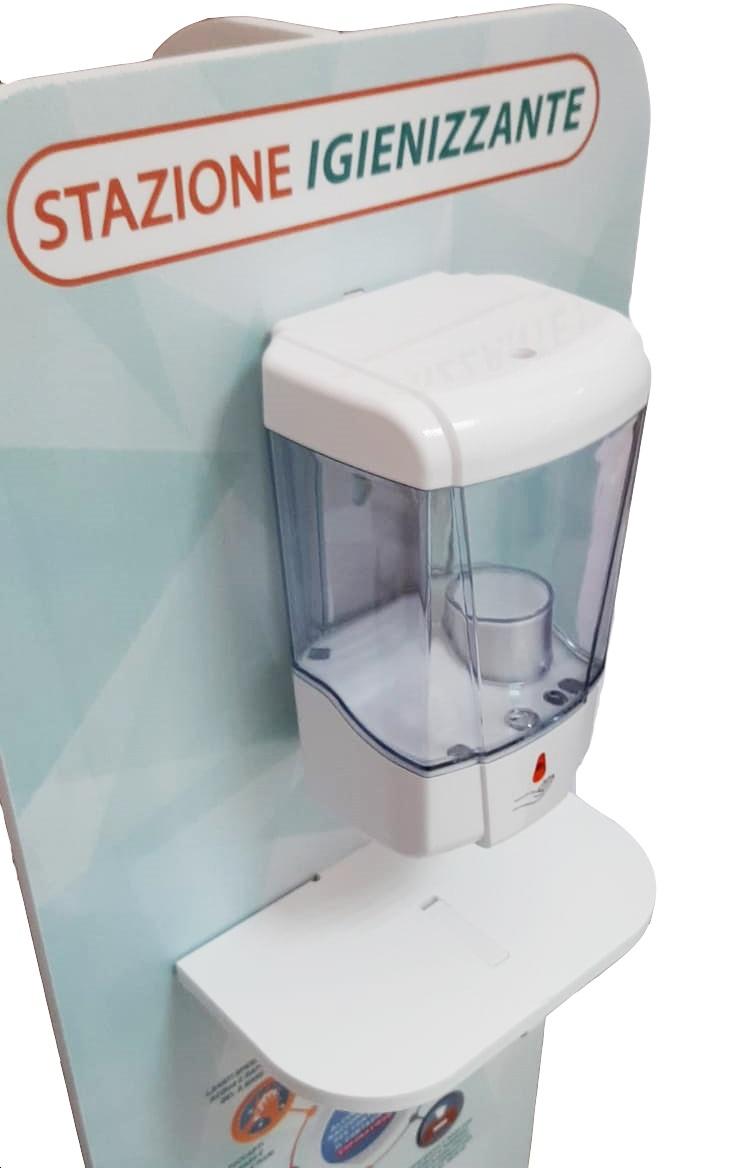 Stazione-sanitizzante-dispenser-mani-dettagli