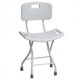 Doccia Con Sedile Pieghevole.Sedile Pieghevole Da Doccia Per Anziani E Disabili Schienale