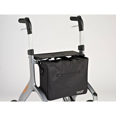 BORSA PER ROLLATOR LET'S GO OUT e LET S FLY - Nera - Wimed