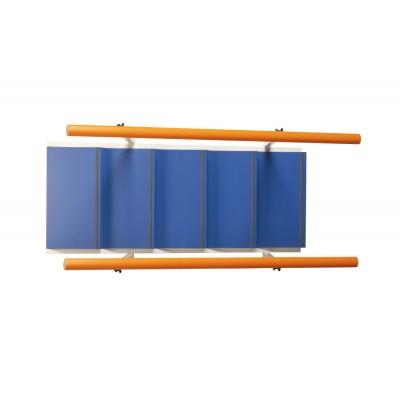 RAMPA DI SCALE STANDARD PER RIABILITAZIONE - 5 GRADINI - H: 9,5cm