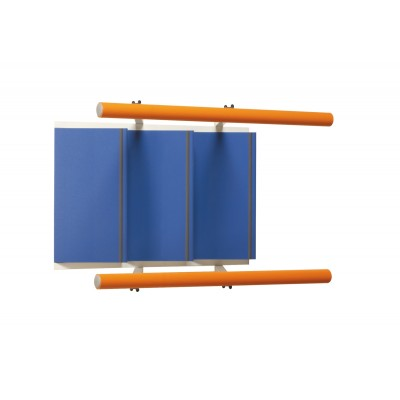 RAMPA DI SCALE STANDARD PER RIABILITAZIONE - 3 GRADINI - H:16cm