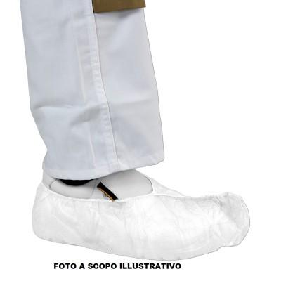 COPRISCARPE MONOUSO IN PP - 40gr - BIANCO - Conf. 100pz