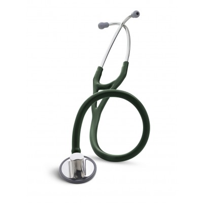 Stetofonendoscopio Cardiologo con membrana fluttuante - Stetoscopio LITTMANN MASTER CARDIOLOGY - VERDE FORESTA
