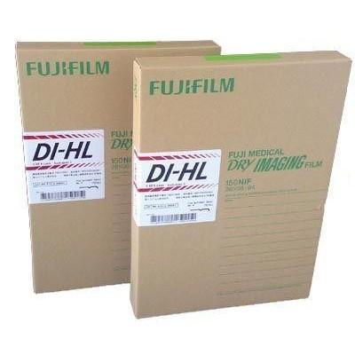 PELLICOLE RADIOGRAFICHE FUJI DI-HL 25x30 - conf. da 150 pz.