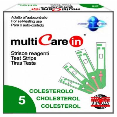 MULTICARE IN® STRISCE COLESTEROLO - 5 pz. + 1 chip
