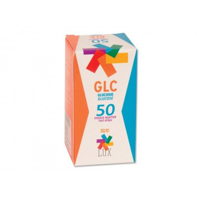 STRISCE GLUCOSIO PER LETTORE LUX 23983 - Conf. 50 pz