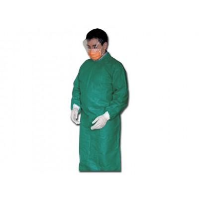 CAMICE CHIRURGICO MONOUSO - sterile - verde - conf. 50 camici