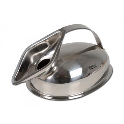 PAPPAGALLO URINALE FEMMINILE - acciaio inox