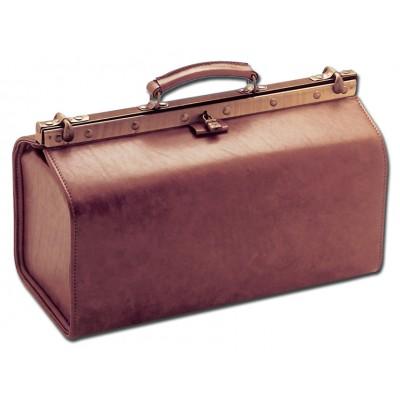 BORSA MEDICO - GRANDE POLUS SKAY - Cognac - Dim. 45x20xh25 cm