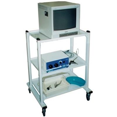 CARRELLO PER ELETTROMEDICALI - 3 RIPIANI - Dim. 60x45cm - Gima Mod. Excell