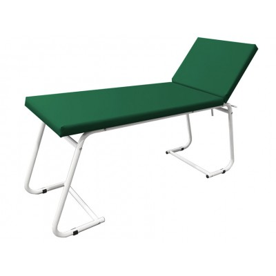 LETTINO MEDICO DA VISITA - verniciato - verde - 180x61x80 Cm