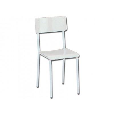 SEDIA - seduta in plastica grigia