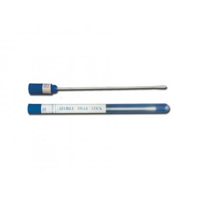 TAMPONE COTONE Ø 0.5 cm - 15 cm - sterile - Conf. da 100 pz.
