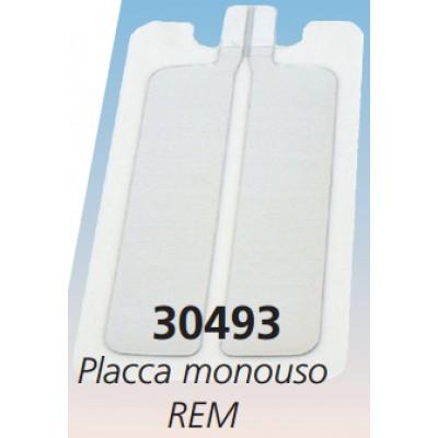 PLACCA MONOUSO BIPARTITICA - REM - Conf. da 25 pz.