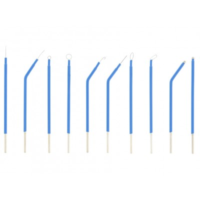 SET 10 ELETTRODI PER ELETTROBISTURI - 10 cm