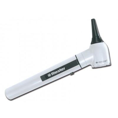 OTOSCOPIO E-SCOPE® F.O. - LED 3.7V - bianco in valigetta rigida