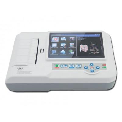 ELETTROCARDIOGRAFO ECG PORTATILE CONTEC 600G a 3/6 canali