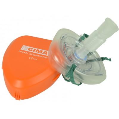 MASCHERINA RIANIMAZIONE CPR - ADULTI, BAMBINI E NEONATI - POCKET MASK