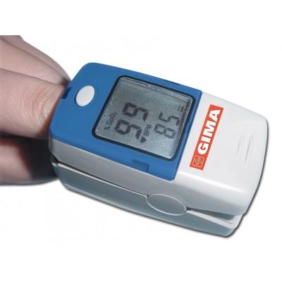 PULSOSSIMETRO / SATURIMETRO DA DITO OXY-5 - con indice di perfusione e allarmi - adulti