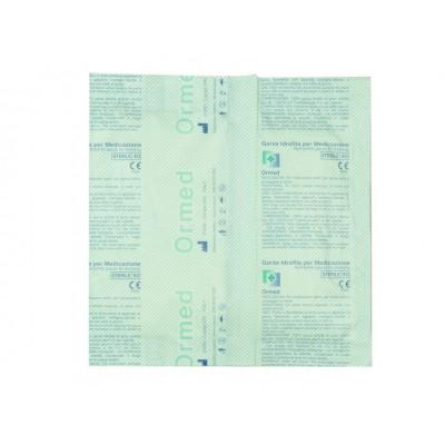 GARZA COTONE STERILE 15 x 15 cm - 100 buste da 25 pz.