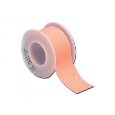 ROTOLO CEROTTO - tessuto color pelle - 5 m x 5 cm - conf. da 12 pz.