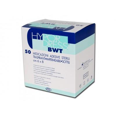 MEDICAZIONE STERILE ADESIVA BWT - Dim. 7,2 x 5 cm - Conf. 50 pz