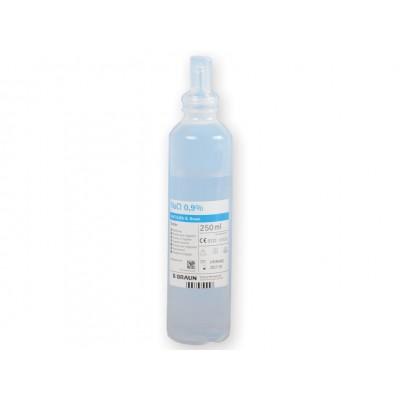 SOLUZIONE SALINA - STERILE - B-BRAUN ECOLAV - 250 ml - Conf. da 20pz