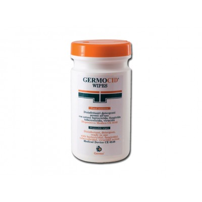 GERMOCID WIPES - tubo 120 salviettine