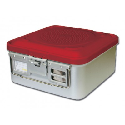 CONTAINER STANDARD 285 x 280 x h 100 mm - 1 filtro - n.p. - rosso