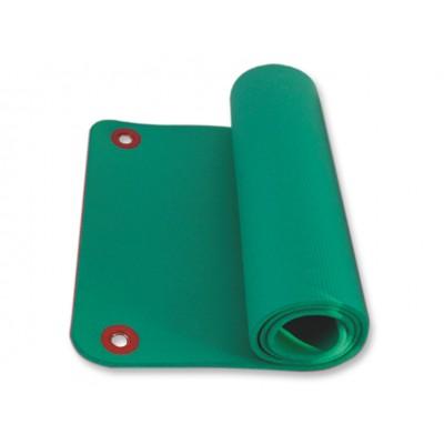 TAPPETINO CON FORI - PER ESERCIZI FISICI E RIABILITAZIONE - Dim. 180x60xh1,6 cm - Colore: verde