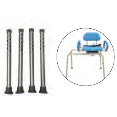 SET GAMBE PER PANCA TRANSFER - REGOLABILE FINO A 55cm - All Mobility