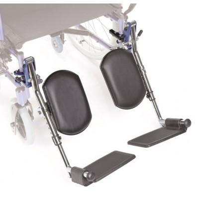 PEDANA ELEVABILE - PAIO - Compatibile con carrozzine Moretti CP745 - CP750 - CP760 - sedute 40 e 43 cm
