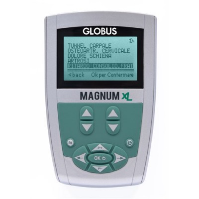 MAGNUM XL - Magnetoterapia 26 Programmi - 1 solenoide flessibile
