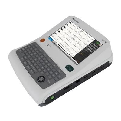 ECG ELETTROCARDIOGRAFO DIGITALE INTERPRETATIVO MOD. IE15 DESIGN LAPTOP DISPLAY LCD TOUCHSCREEN - 15 derivazioni a 15 canali