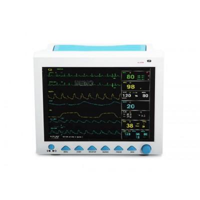 MONITOR MULTIPARAMETRICO - MULTILINGUA - ECG, SP02, NIBP, RESP, TEMP - STAMPANTE INTEGRATA