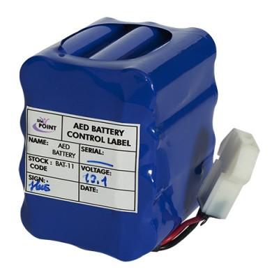 Batteria a lunga durata 5 anni o 100 scariche per defibrillatore semiautomatico Life-Point Pro AED