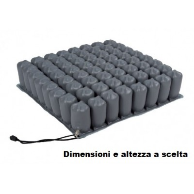 CUSCINO ANTIDECUBITO A BOLLE D'ARIA - 2 SEZIONI - Termigea
