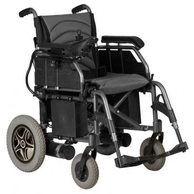 SEDIA A ROTELLE / CARROZZINA PIEGHEVOLE ELETTRICA per disabili ed anziani