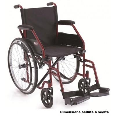 CARROZZINA PIEGHEVOLE AD AUTOSPINTA - START CP100R - Telaio: Rosso
