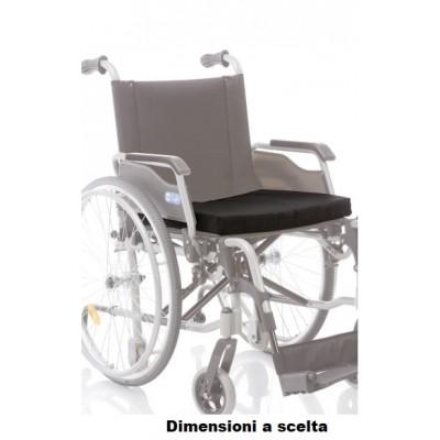 CUSCINO ANTIDECUBITO IN GOMMAPIUMA PER CARROZZINE MORETTI