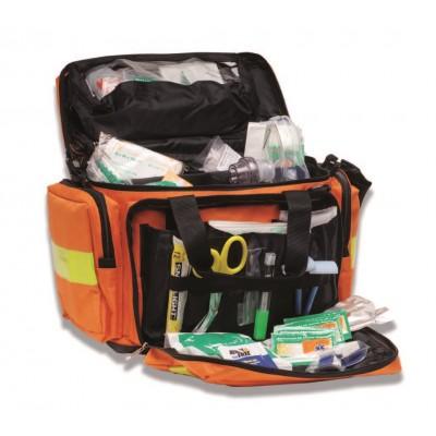 BORSA EMERGENZA DI PRONTO SOCCORSO - 4 SCOMPARTI - COMPLETA - PVS: Mod. Trauma bag