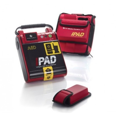 DEFIBRILLATORE I-PAD - PIASTRE ADULTI INCLUSE - IN LINGUA ITALIANA - CU MEDICAL